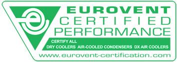 """Alfa Laval participa en el """"Eurovent Certify All Programme"""" -Programa completo de certificación Eurovent-  para condensadores, enfriadores de líquido y evaporadores HFC DX."""