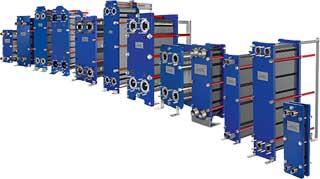 Alfa Lavals plattvärmeväxlare innehåller ett brett urval av lösningar för användning inom praktiskt taget alla branscher.