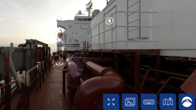 virtual tour on pureballast deck