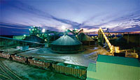 Mining and mineral processing industry