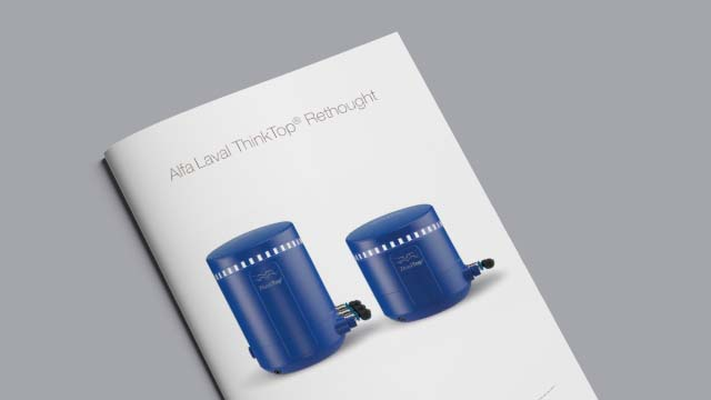 Alfa Laval ThinkTop® Rethought brochure 640x360
