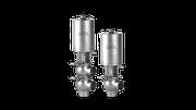 Dairy actuator single seat valve