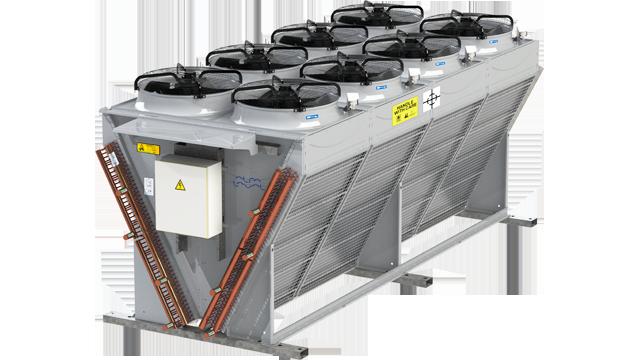 Industrial Fuel Coolers : Alfa laval v vxd