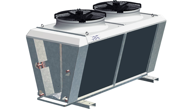 Liquid Dry Coolers : Alfa laval v single row vdm