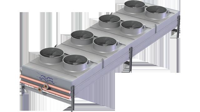 Liquid Dry Coolers : Alfa laval alfasolar sd