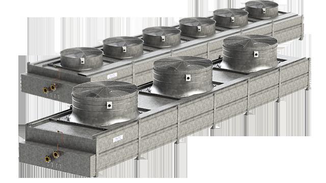 Liquid Dry Coolers : Alfa laval fincoil fbl