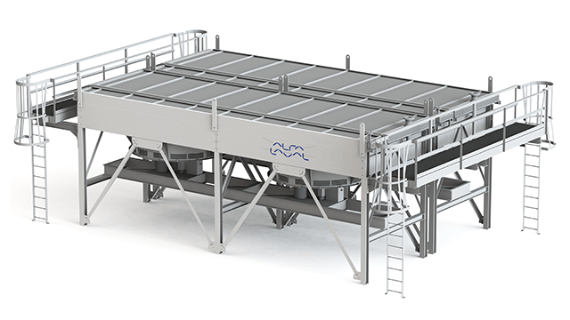Alfa Laval air-cooled exchanger Model E
