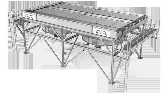 Air Cooler Exchanger : Alfa laval olmi air cooler