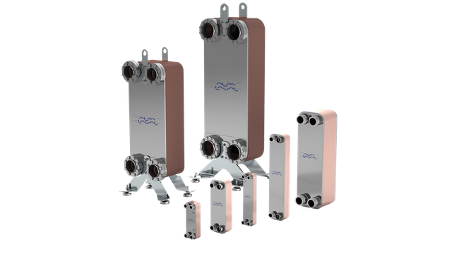 Alfa Laval brazed plate heat exchangers