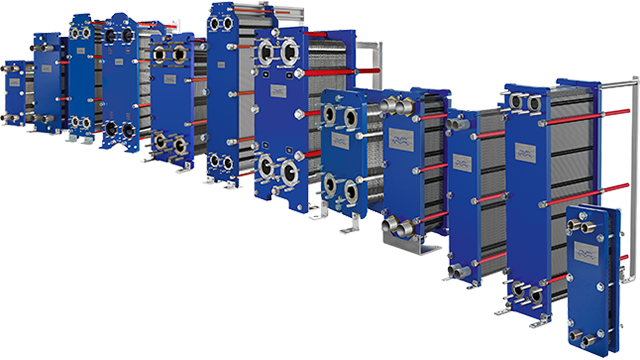 Alfa Laval gasketed plate and frame heat exchangers