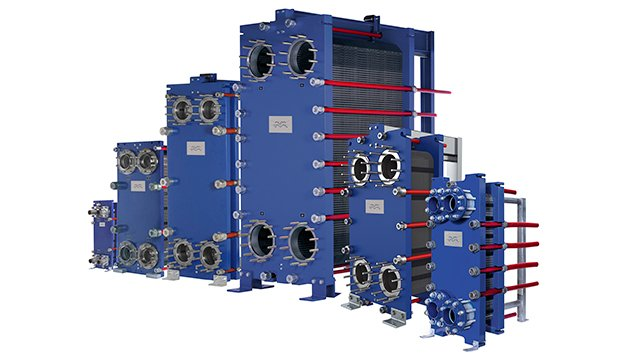 semi welded plate heat exchangers