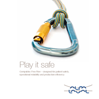 Play it safe - brochure cover