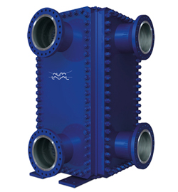 Alfa Laval Compabloc welded plate heat exchanger