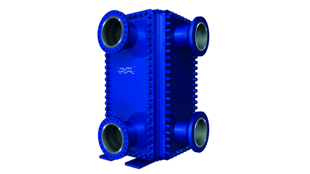 Alfa Laval Compabloc welded plate heat exchanger for the refinery industry