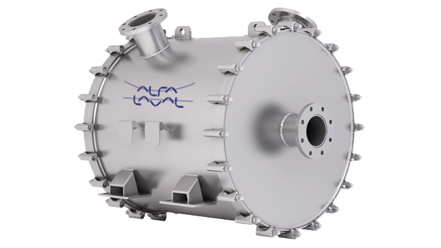 Alfa Laval welded spiral heat exchanger