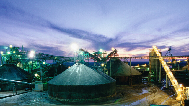 Asturiana zinc production in Spain