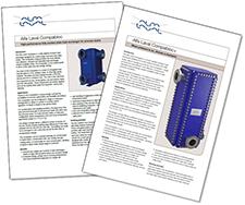Compabloc product leaflets