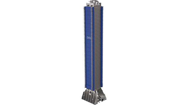 packinox plate-and-frame heat exchanger isolated