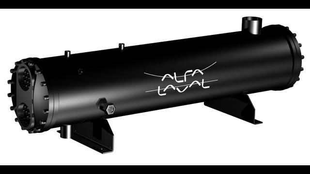 Alfa Laval - Shell-and-tube condenser