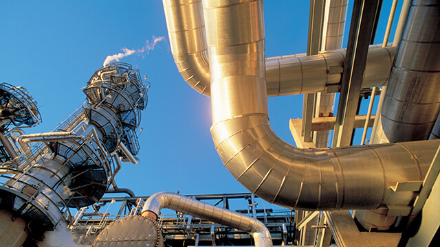 gas production pipes and facility 640x360