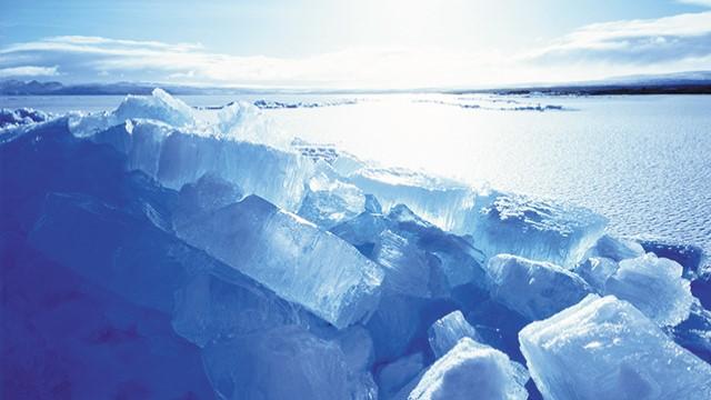 Icy winter landscape 640x360
