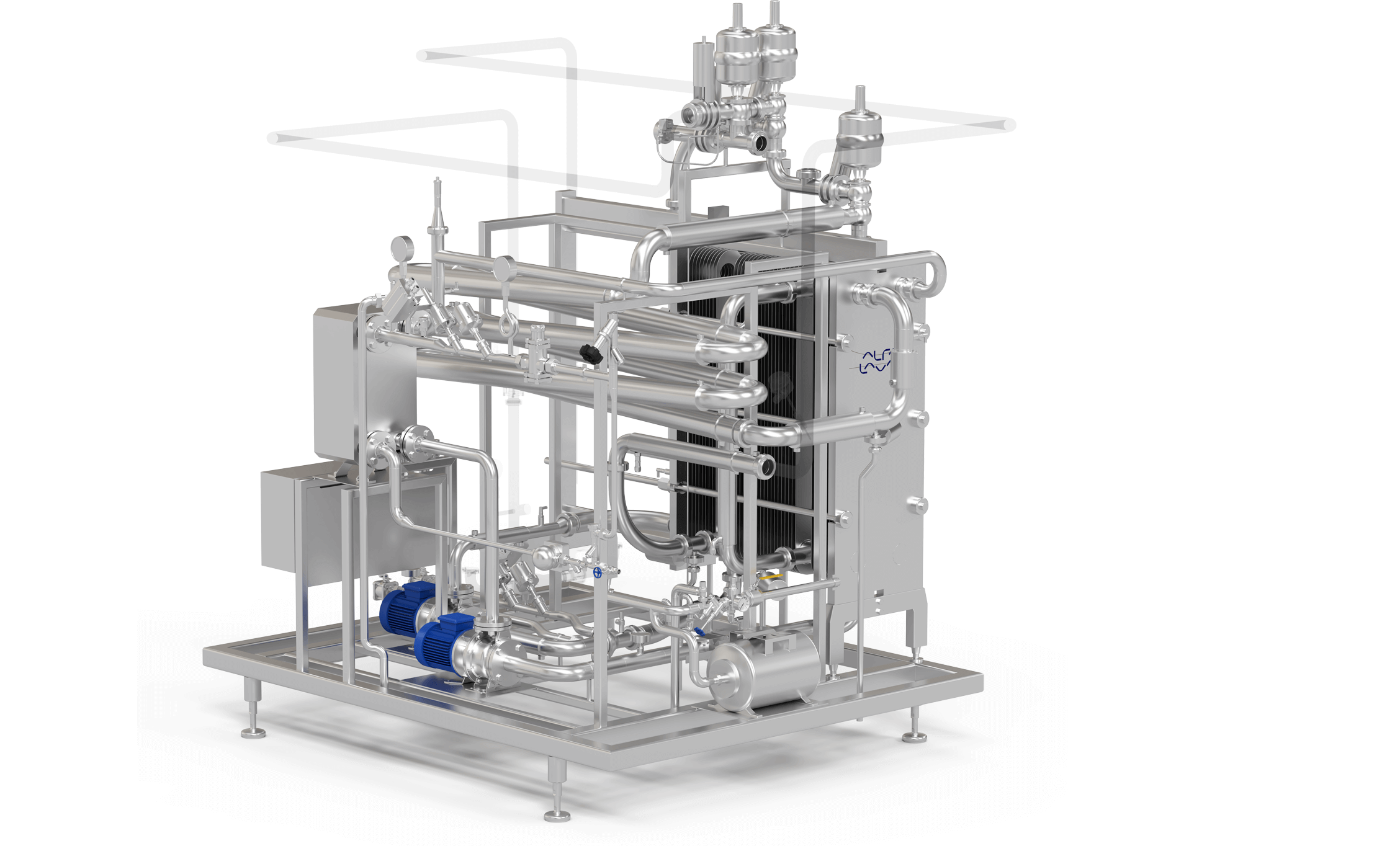 Alfa Laval margarine processing plants and equipment for pasteurization
