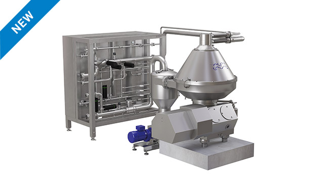 CR 450 - hermetic centrifuge for citrus processing