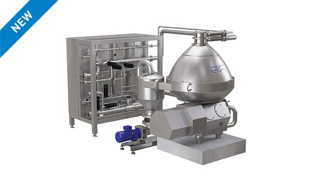 Cr 750 - hermetic centrifuge for citrus juice processing and citrus oil recovery