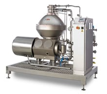 CR 250 - separator for concentrating of citrus oil