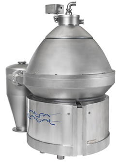 High speed separator direct drive