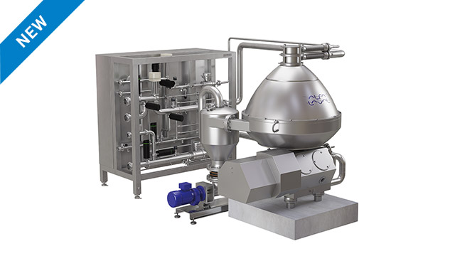 PurePulp 750 - industrial centrifuge for citrus juice processing and pulp removal