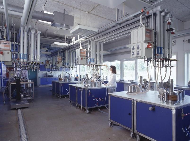 Alfa Laval membrane test facilities in Nakskov Denmark