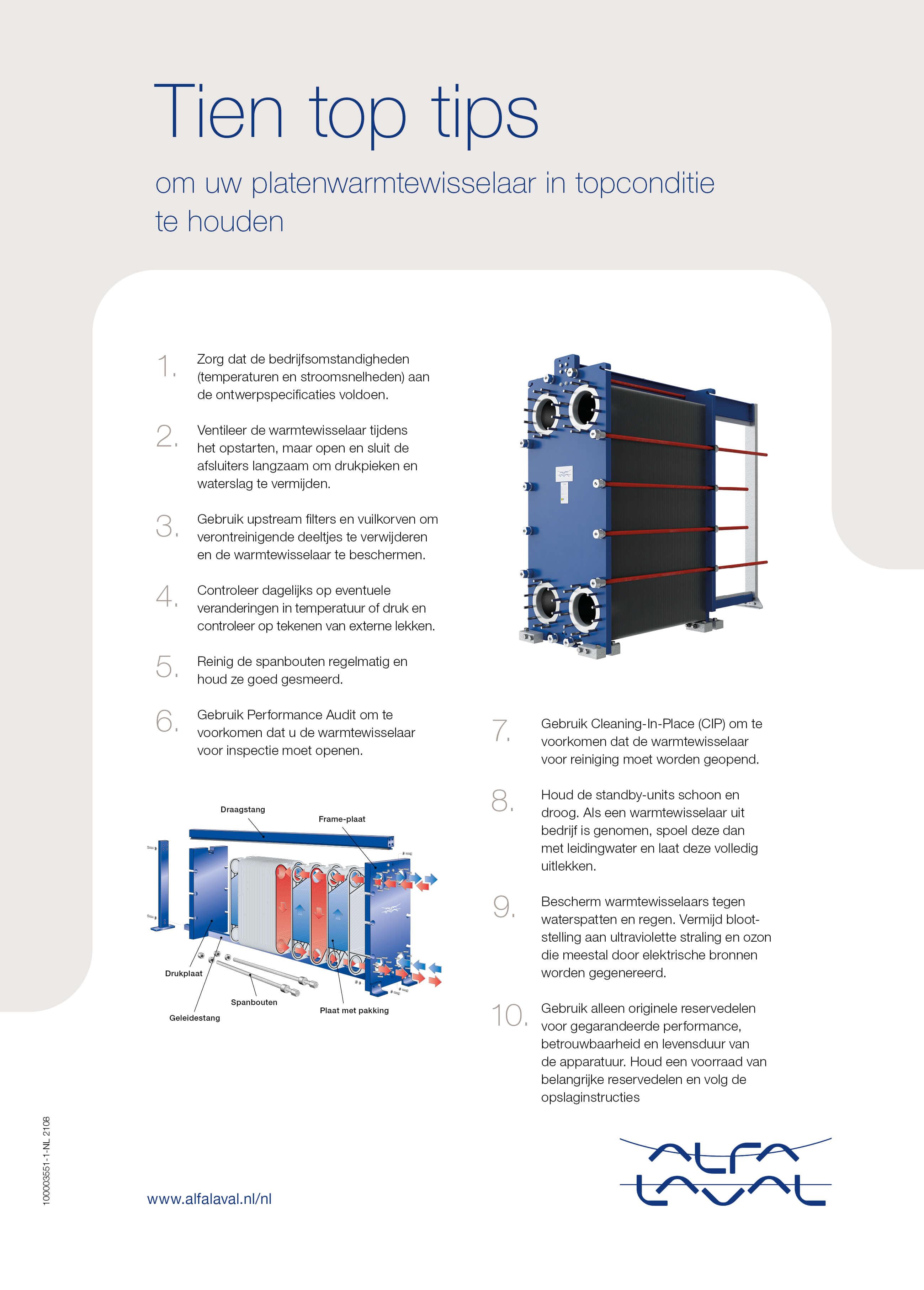 PHE service ten top tips NL