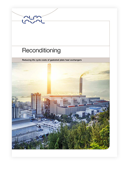 PHE service campaign reconditioning brochure